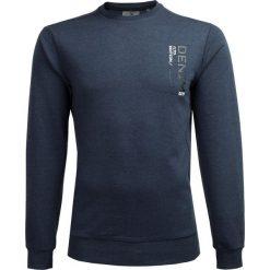 Bluza męska BLM600A - ciemny granat melanż - Outhorn. Czarne bluzy męskie Outhorn, melanż. Za 89.99 zł.