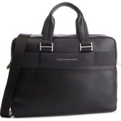 Torba na laptopa TOMMY HILFIGER - Th Business Computer Bag AM0AM04259  002. Niebieskie torby na laptopa męskie Tommy Hilfiger, ze skóry ekologicznej. Za 699.00 zł.