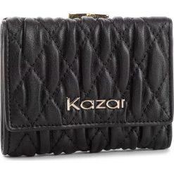 Duży Portfel Damski KAZAR - 34483-01-00 Black. Czarne portfele damskie Kazar, ze skóry. Za 299.00 zł.