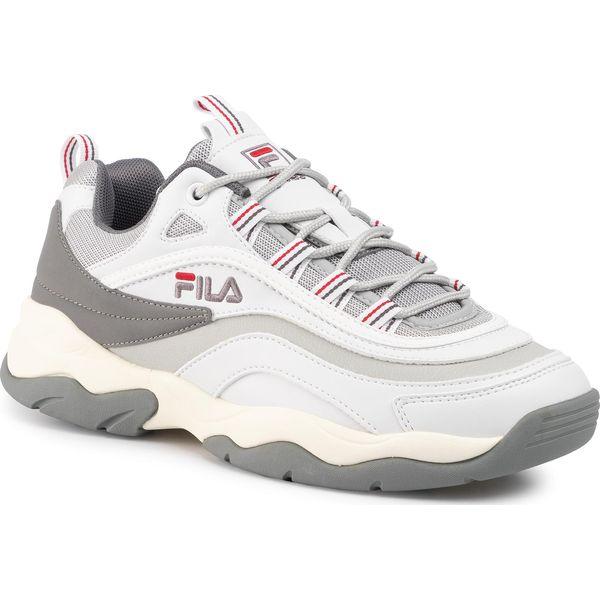 Sneakersy FILA Ray Cb Low 1010723.01Z WhiteGray Violet