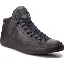 Trampki CONVERSE - Ctas High Street Hi 161473C Black/Black/Black. Czarne trampki męskie Converse, z gumy. W wyprzedaży za 279.00 zł.