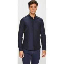 Medicine - Koszula Contemporary Classics. Czarne koszule męskie MEDICINE, z bawełny, z klasycznym kołnierzykiem, z długim rękawem. Za 149.90 zł.