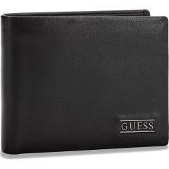 Duży Portfel Męski GUESS - SM2509 LEA20  BLA. Czarne portfele męskie Guess, ze skóry. Za 259.00 zł.