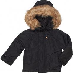 Kurtka zimowa w kolorze czarnym. Czarne kurtki i płaszcze dla chłopców Peak Mountain, na zimę. W wyprzedaży za 215.95 zł.