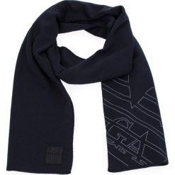 Szal EA7 EMPORIO ARMANI - 275804 8A302 02836 Dark Blue. Czarne szaliki i chusty damskie EA7 Emporio Armani, z materiału. W wyprzedaży za 299.00 zł.