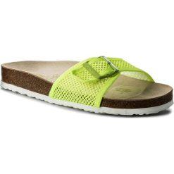Klapki PEPE JEANS - PLS90330  Lima 639. Zielone klapki damskie Pepe Jeans, z jeansu. W wyprzedaży za 149.00 zł.