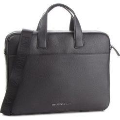 Torba na laptopa EMPORIO ARMANI - Y4P105 YDS4J 81072 Black. Czarne torby na laptopa męskie Emporio Armani, ze skóry. Za 1,589.00 zł.