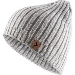 Czapka męska CAM604 - chłodny jasny szary melanż - Outhorn. Szare czapki i kapelusze męskie Outhorn. Za 24.99 zł.