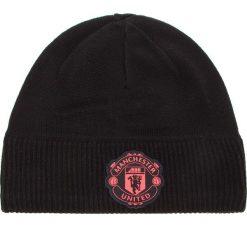 Czapka adidas - Mufc Beanie Cl CY5593 Black/Corpink. Czarne czapki i kapelusze męskie Adidas. Za 99.95 zł.