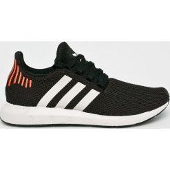 Adidas Originals - Buty Swift Run. Szare obuwie sportowe damskie adidas Originals, z materiału. W wyprzedaży za 299.90 zł.