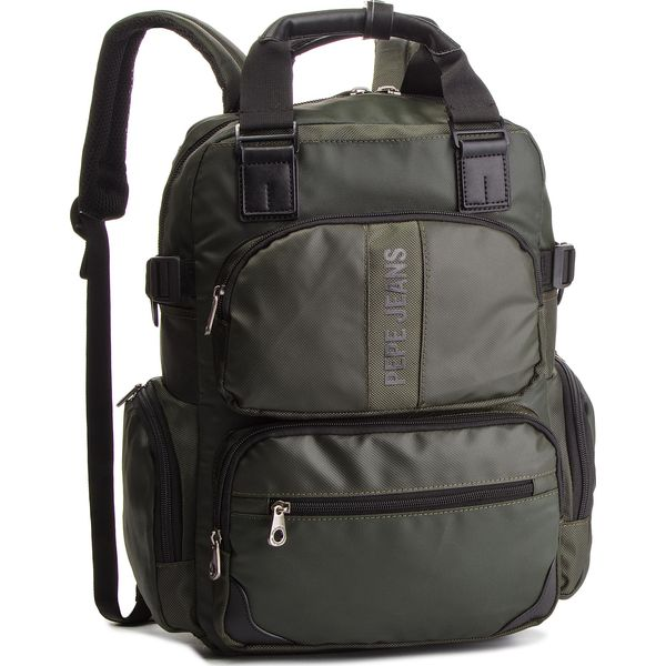 81426ec3ef436 Plecak PEPE JEANS - Bromley Laptop PM120026 Military Green 679 ...