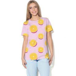 Colour Pleasure Koszulka damska CP-030 114 różowa r. XL/XXL. T-shirty damskie Colour Pleasure. Za 70.35 zł.
