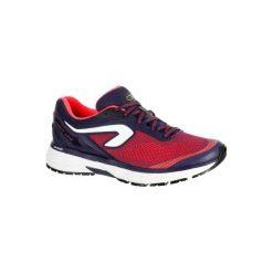 Buty do biegania KIPRUN LONG damskie. Czerwone obuwie sportowe damskie KALENJI, z gumy. Za 249.99 zł.