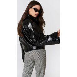 NA-KD Trend Kurtka Patent Wide Sleeve - Black. Czarne kurtki damskie NA-KD Trend. Za 283.95 zł.