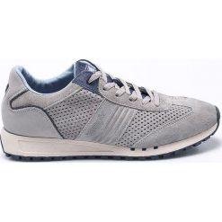 Wrangler - Buty. Szare buty sportowe męskie Wrangler, z materiału. W wyprzedaży za 229.90 zł.