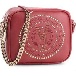 Torebka VERSACE JEANS - E1VSBBR3 70718 331. Czerwone torebki do ręki damskie Versace Jeans, z jeansu. Za 589.00 zł.