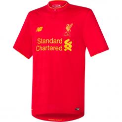 Koszulka Liverpool LFC Home Kit. Czerwone koszulki sportowe męskie New Balance, na jesień, z materiału. W wyprzedaży za 129.99 zł.