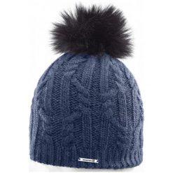 Salomon Czapka Damska Ivy Beanie Dress Blue. Niebieskie czapki i kapelusze damskie Salomon, z wełny. W wyprzedaży za 135.00 zł.