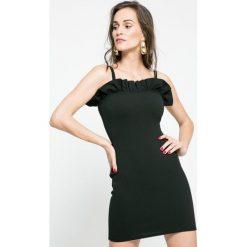 Missguided - Sukienka. Szare sukienki damskie Missguided, z elastanu, casualowe. W wyprzedaży za 49.90 zł.