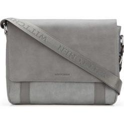 Torba na laptopa 87-4P-501-8. Szare torby na laptopa męskie Wittchen, w paski. Za 359.00 zł.