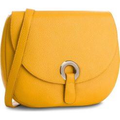 Torebka CREOLE - K10546  Żółty. Żółte listonoszki damskie Creole, ze skóry. Za 229.00 zł.