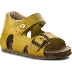Sandały NATURINO - Falcotto By Naturino 0011500673.01.9109 Giallo. Sandały chłopięce Naturino, ze skóry. W wyprzedaży za 219.00 zł.
