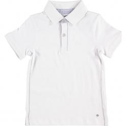 Koszulka polo w kolorze białym. Białe t-shirty dla chłopców Paglie, New G.O.L & more, z haftami, z bawełny. W wyprzedaży za 35.95 zł.