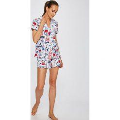 Lauren Ralph Lauren - Piżama. Szare piżamy damskie Lauren Ralph Lauren, z bawełny. W wyprzedaży za 319.90 zł.