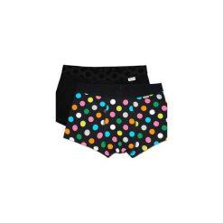 Bielizna męska Happy Socks - 2Pack Big Dot Trunk (BDO96-9000). Czarna bokserki męskie Happy Socks, z materiału. Za 119.90 zł.