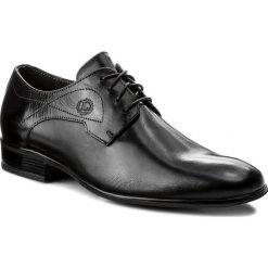 Półbuty LASOCKI FOR MEN - MB-BEAR2-01 Czarny. Czarne eleganckie półbuty Lasocki For Men, ze skóry. Za 179.99 zł.