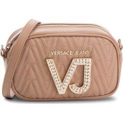 Torebka VERSACE JEANS - E1VSBBI1 70784 723. Brązowe listonoszki damskie Versace Jeans, z jeansu. Za 619.00 zł.