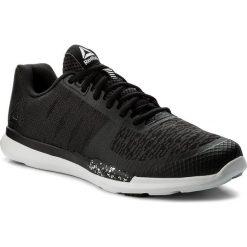 Buty Reebok - Reebok Sprint Tr CN1232 Blk/Wht/Skull Grey. Czarne obuwie sportowe damskie Reebok, z materiału. W wyprzedaży za 229.00 zł.