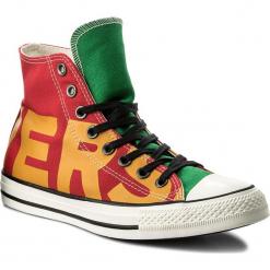 Trampki CONVERSE - Ctas Hi 159534C Enamel Red/Yellow/Egret. Czerwone trampki męskie Converse, z gumy. W wyprzedaży za 219.00 zł.