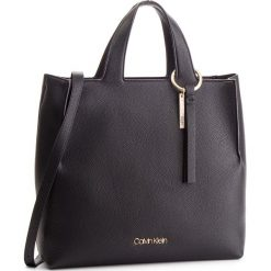 Torebka CALVIN KLEIN - Neat Shopper K60K604597 001. Czarne torby na ramię damskie Calvin Klein. Za 849.00 zł.
