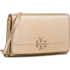 Torebka TORY BURCH - Mcgraw Metallic Flat Wallet 46171 Gold 701. Żółte listonoszki damskie Tory Burch, ze skóry. Za 1,259.00 zł.