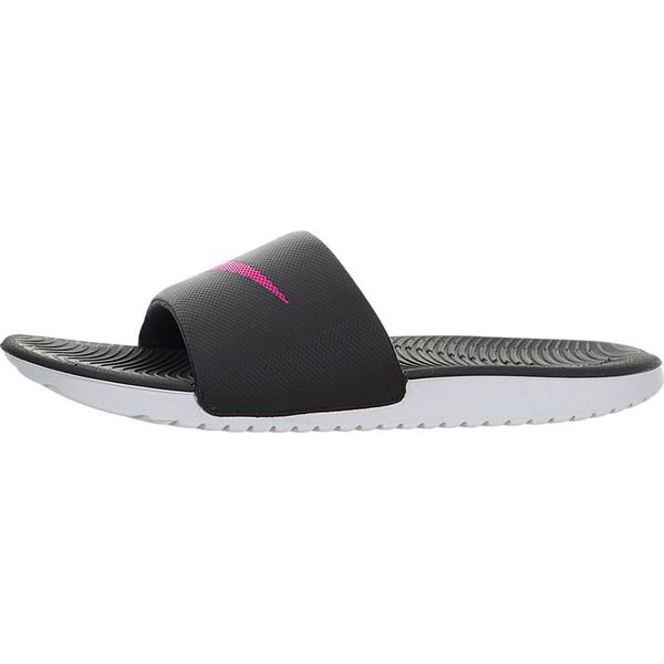 0a9ded2f945ed Nike Klapki damskie Kawa Slide Sandal czarno-różowe r. 42 (834588 ...