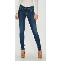 Pepe Jeans - Jeansy Pixie. Niebieskie jeansy damskie Pepe Jeans. W wyprzedaży za 319.90 zł.