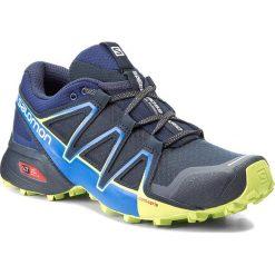 Buty SALOMON - Speedcross Vario 2 394524 27 V0 Navy Blazer/Nautical Blue/Lime Punch. Niebieskie buty sportowe męskie Salomon, z materiału. W wyprzedaży za 329.00 zł.
