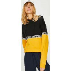 Tally Weijl - Bluza. Brązowe bluzy damskie TALLY WEIJL, z aplikacjami, z bawełny. Za 119.90 zł.