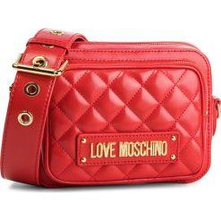 Torebka LOVE MOSCHINO - JC4004PP17LA0500  Rosso. Czerwone listonoszki damskie Love Moschino, ze skóry ekologicznej. Za 719.00 zł.