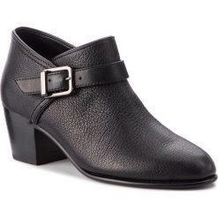 Półbuty CLARKS - Maypearl Milla 261361504 Black Leather. Czarne półbuty damskie Clarks, z materiału, eleganckie. W wyprzedaży za 349.00 zł.