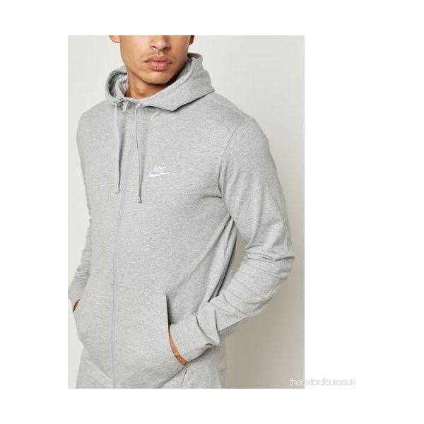 specjalne do butów duża obniżka spotykać się Nike Bluza męska M NSW Hoodie FZ JSY Club szara r. XL (861754-063)
