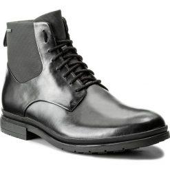 Kozaki CLARKS - Londonpace Gtx GORE-TEX 261269287 Black Leather. Czarne kozaki męskie Clarks, z gore-texu, eleganckie. W wyprzedaży za 469.00 zł.