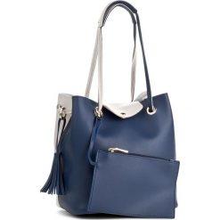 Torebka MONNARI - BAGA610-013 Navy. Niebieskie torebki do ręki damskie Monnari, ze skóry ekologicznej. W wyprzedaży za 129.00 zł.