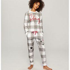 Piżama ze spodniami - Szary. Piżamy damskie marki MAKE ME BIO. W wyprzedaży za 99.99 zł.