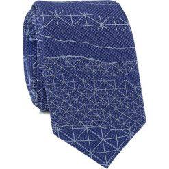 Krawat KWNR001456. Niebieskie krawaty i muchy Giacomo Conti, z mikrofibry. Za 69.00 zł.