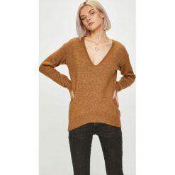 Guess Jeans - Sweter. Szare swetry przez głowę męskie Guess Jeans, z jeansu. Za 369.90 zł.