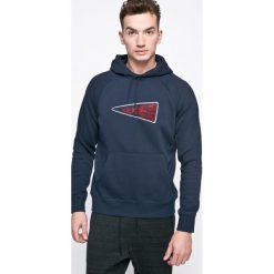 Nike Sportswear - Bluza. Szare bluzy męskie Nike Sportswear, z aplikacjami, z bawełny. W wyprzedaży za 159.90 zł.