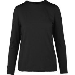 """Koszulka """"Donna"""" w kolorze czarnym. T-shirty damskie Frieda Sand, z bawełny, z okrągłym kołnierzem, z długim rękawem. W wyprzedaży za 65.95 zł."""