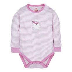 G-Mini Dziecięce Body Niedźwiadek, 80, Białe/Różowe. Body niemowlęce marki Pollena Savona. Za 39.00 zł.